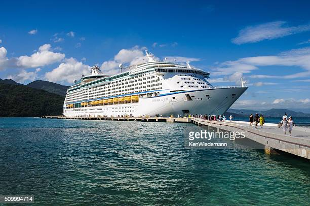 Docked in Labadee