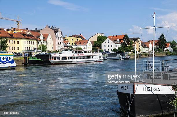 Docked in Regensburg