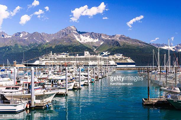 Docked in Seward, Alaska