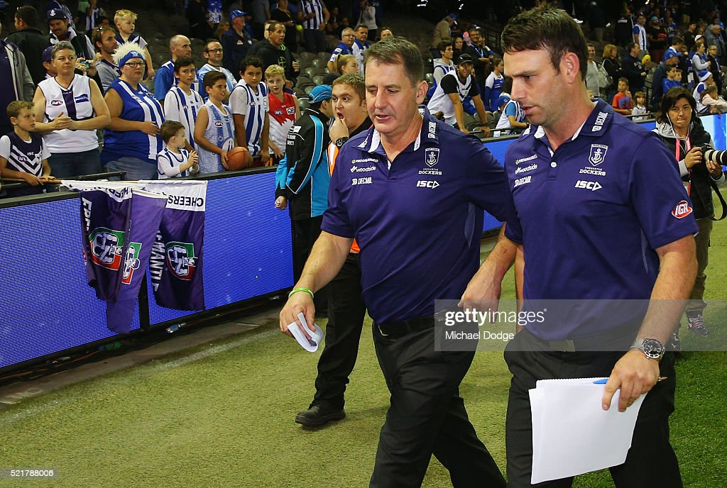 AFL Rd 4 - North Melbourne v Fremantle