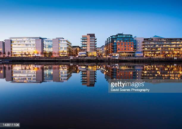 Docklands at dusk