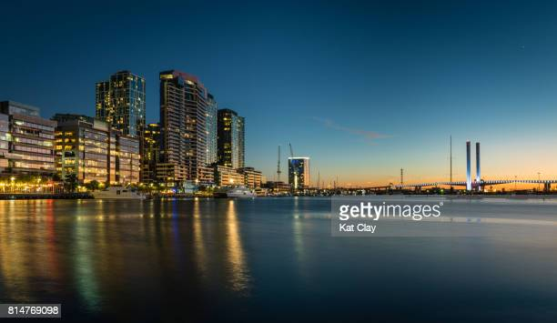 Docklands at Sunset