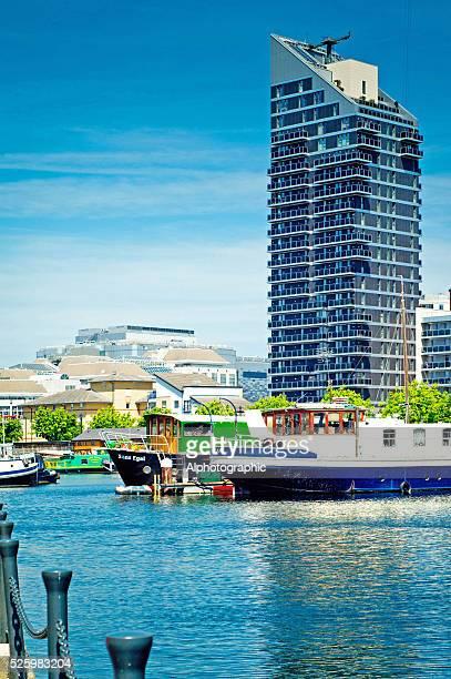 Docks near Canary wharf