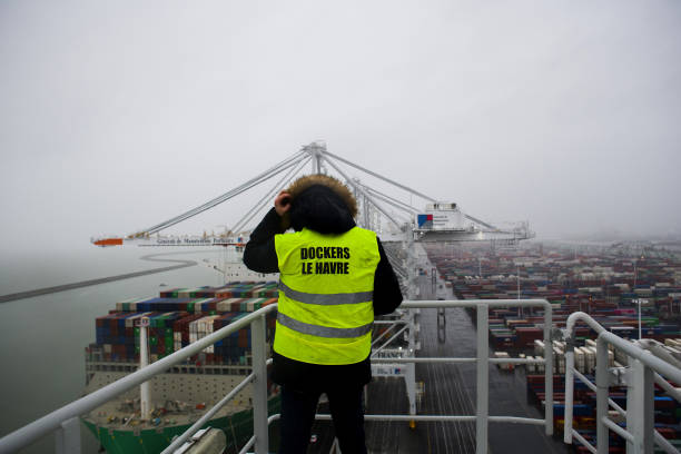 FRA: Aboard The World's Largest LNG Powered Container Ship