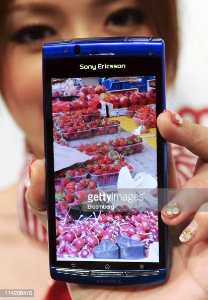 NTT DoCoMo Inc 's new Sony Ericsson Xperia Acro SO-02C is