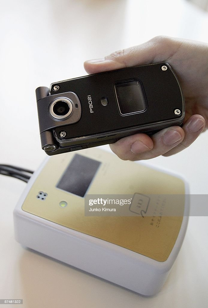 Mobile Phone-Based Credit Card Launched In Japan : News Photo
