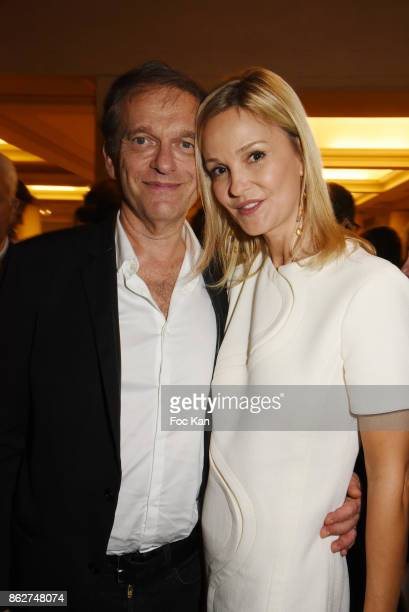 Docter Frederic Saldmann et Marie Saldmann attend the 'Gala de L'Espoir' Auction Dinner Against Cancer at the Theatre des Champs Elysees on October...