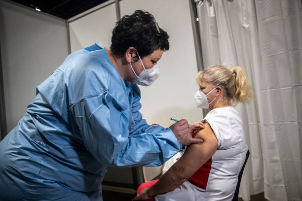DEU: Saxony Opens Its Vaccine Centers As Infection Rates Remain Highest In Germany