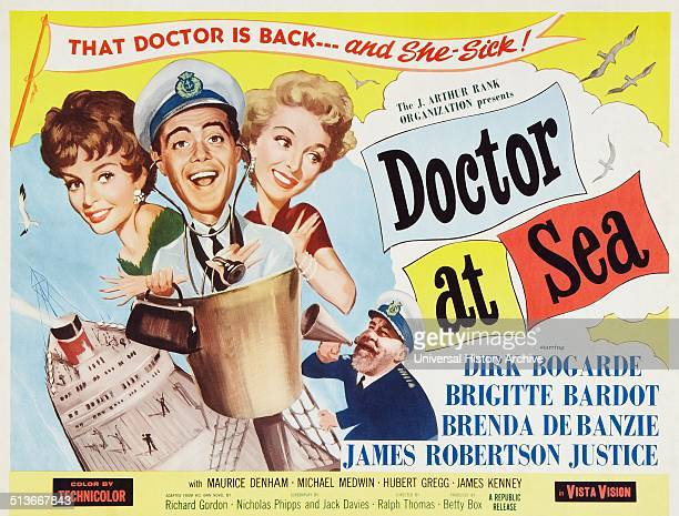 Doctor at Sea A 1955 British comedy film directed by Ralph Thomas produced by Betty E Box and based on Richard Gordon's novel It was the second of...