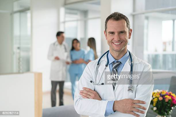 Doctor at the hospital