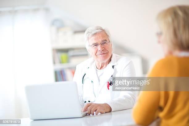 Arzt bei der Arbeit