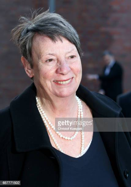 Doctor Barbara Hendricks minister of environment poses during the Steiger Award at Coal Mine Hansemann 'Alte Kaue' on March 25 2017 in Dortmund...