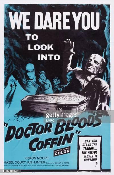 Doctor Blood's Coffin poster US poster art Kieron Moore Hazel Court 1961