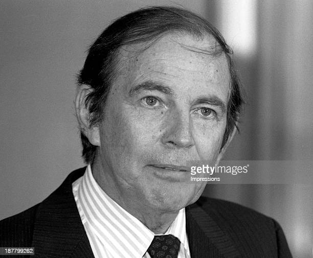 Doctor Christiaan Barnard during a vist to hospitals in Melbourne