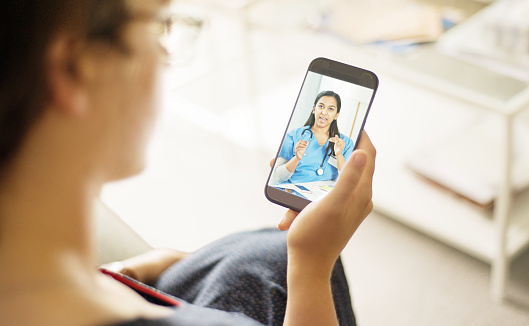 Doctor consultations are just an app away 1062130136