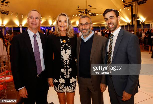Doctor David Reich Doctor Eva AnderssonDubin and Doctor David Muller attend the Mount Sinai Health System 2017 Crystal Party in Central Park...