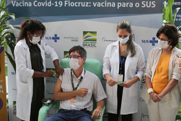 BRA: Oxford/AstraZeneca Vaccine Against the Coronavirus (COVID - 19) Arrives at Fiocruz