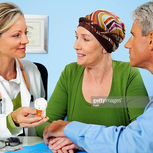 Doctor Explaining Prescription
