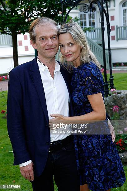 Doctor Frederic Saldmann and his wife Marie attend the Hotel Normandy ReOpening at Hotel Normandy on June 18 2016 in Deauville France