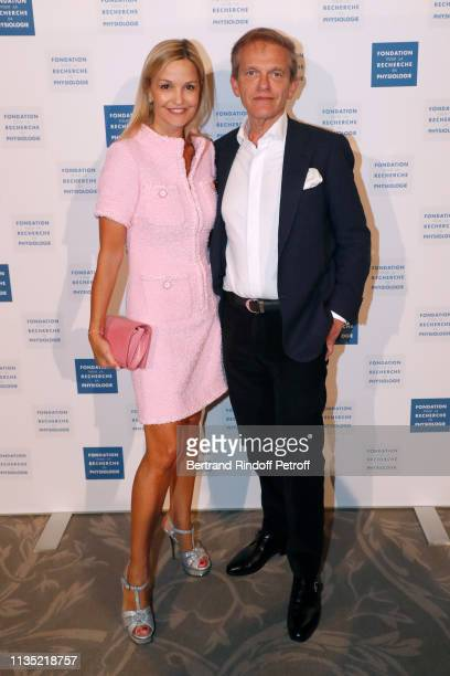 Doctor Frederic Saldmann and his wife Marie Saldmann attend the Stethos d'Or 2019 Charity Gala of the Foundation for Physiological Research at on...