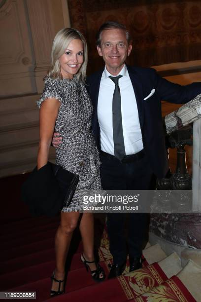 Doctor Frederic Saldmann and his wife Marie Saldmann attend the Vaincre Le Cancer Benefit Party at Cercle de l'Union Interalliee on November 20 2019...