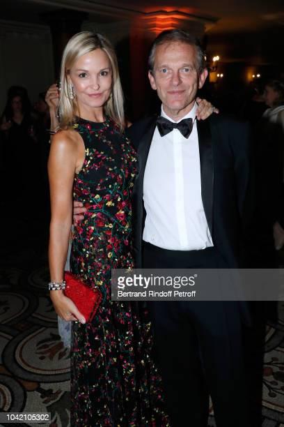 Doctor Frederic Saldmann and his wife Marie Saldmann attend the Opening Season Paris Opera Ballet Gala as part of the Paris Fashion Week Womenswear...