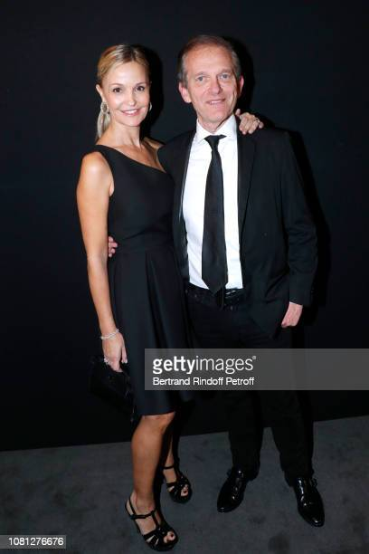 Doctor Frederic Saldmann and his wife Marie Saldmann attend the Annual Charity Dinner hosted by the AEM Association Children of the World for Rwanda...