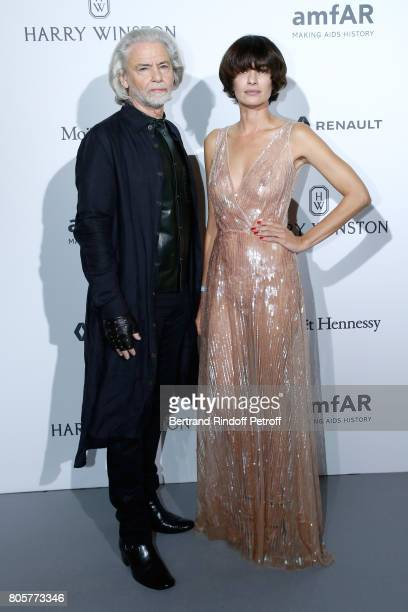 Doctor Hermann Buhlbecker attends the amfAR Paris Dinner 2017 at Le Petit Palais on July 2 2017 in Paris France
