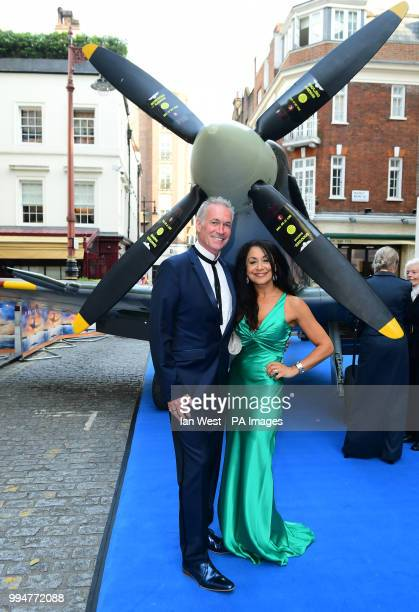 Doctor Hilary Jones and Dee Thresher attending the premiere of Spitfire, held at the Curzon Mayfair, London.