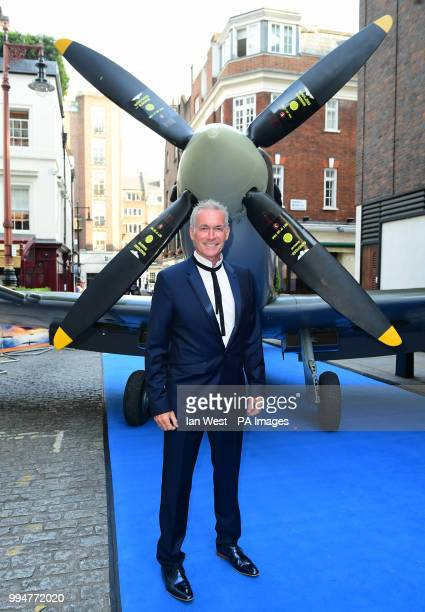 Doctor Hilary Jones attending the premiere of Spitfire, held at the Curzon Mayfair, London.