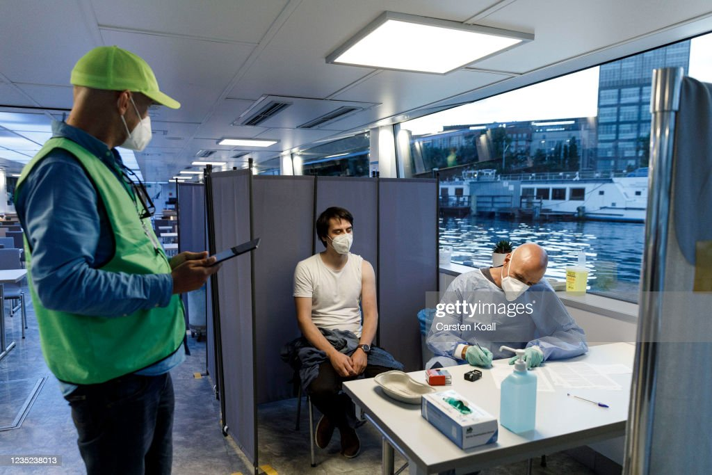 Germany Launches New Nationwide Vaccination Campaign : News Photo