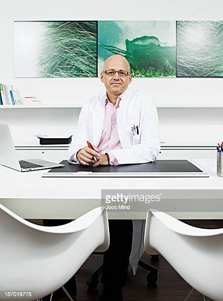 doctor in office, portrait