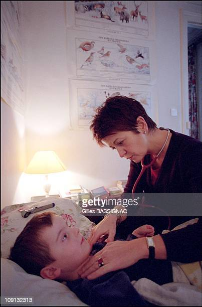 Doctor Isabelle Vareille Still Does House Calls In Paris On January 14Th 2002 In Paris France