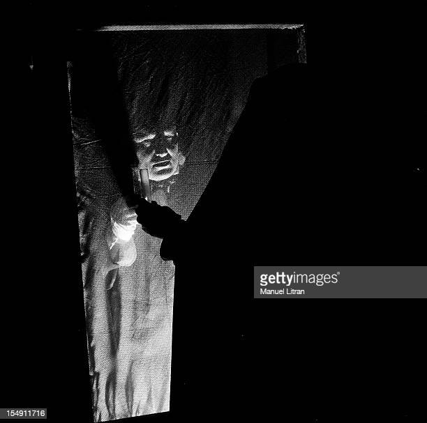 Doctor Jekyll And Mister Hyde by Grand Puppet Troupe In Paris In 1954 The Theater Troupe The Grand Guignol' In The 9th District Presented The Play...