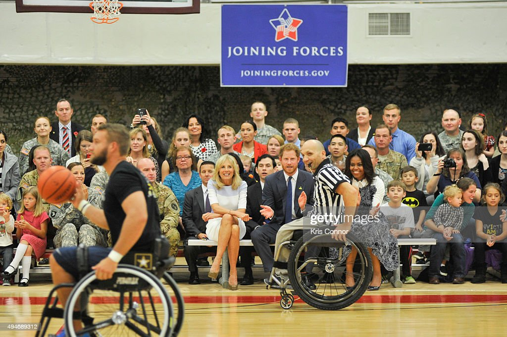 Joining Forces Invictus Games 2016 Event : News Photo