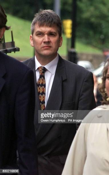 Doctor Jonathan Chamberlain arriving at Newcastle Crown Court on the third day of his trial. Chamberlain is being charged with the Kidnap and assault...