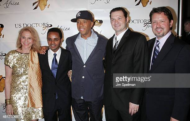 Doctor Judy Kuriansky, USDFA Founder and CEO Ted Alemayhu, Russell Simmons, USDFA CFO Anthony Severini and USDFA Director of Strategic Development...