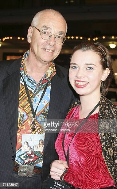 """Doctor Karl Kruszelnicki and his daughter attend """"The Break-Up"""" Australian Premiere at the State Theatre June 05, 2006 in Sydney, Australia."""