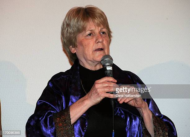 Doctor MaryClaire King attends Seattle International Film Festival premiere of Decoding Anne Parker at Egyptian Theater Seattle on June 6 2013 in...