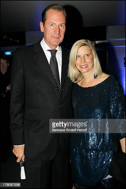 Doctor Mathias Doepfner and wife Ulrike at The 20th Anniversary Party For The Thaddaeus Ropac Gallery In Paris Concert Held At Cardin Space In Paris