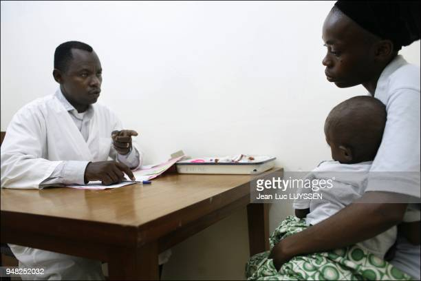 Doctor Patrick Nzounza CTA medical coordinator in the Congo global treatment centre for HIV/AIDS sufferers