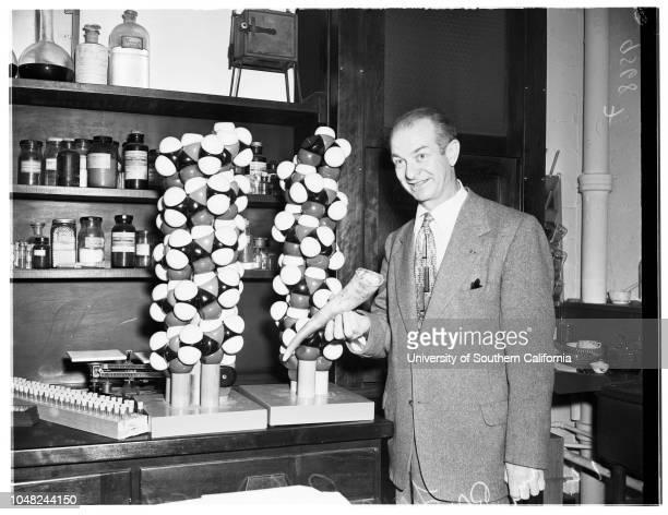 Doctor Pauling 11 May 1952 Doctor Linus Pauling