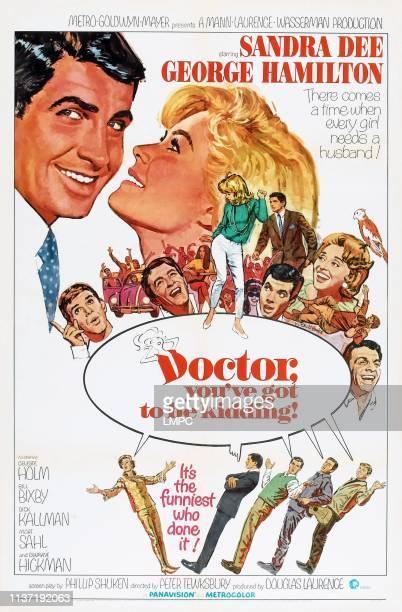 Doctor poster YOUVE GOT TO BE KIDDING US poster top left George Hamilton Sandra Dee middle row Dick Kallman Bill Bixby Dwayne Hickman Celeste Holm...