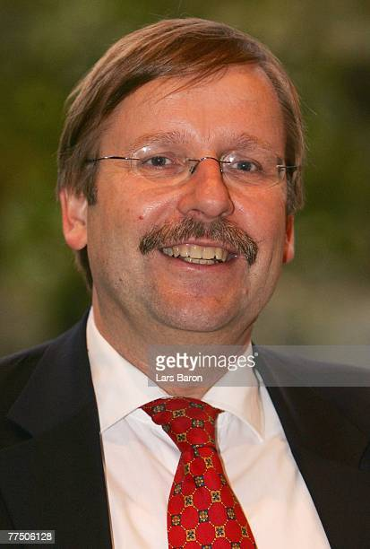 Doctor Rainer Koch poses during the second day of the DFB Bundestag at the Rheingoldhalle on October 26, 2007 in Mainz, Germany.