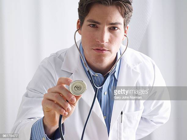 Doctor with stetherscope