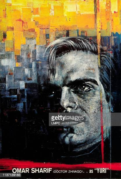 Doctor Zhivago poster Omar Sharif on special poster art 1965