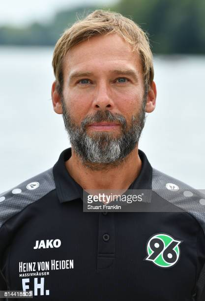 Doctore Felix Hessel team doctor of Hannover 96 poses during the team presentation at on July 14 2017 in Hanover Germany