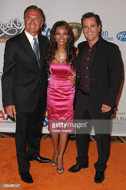 Doctors Andrew Ordon Lisa Masterson and Jim Sears arrive at the 16th Annual Race to Erase MS event cochaired by Nancy Davis and Tommy Hilfiger at...
