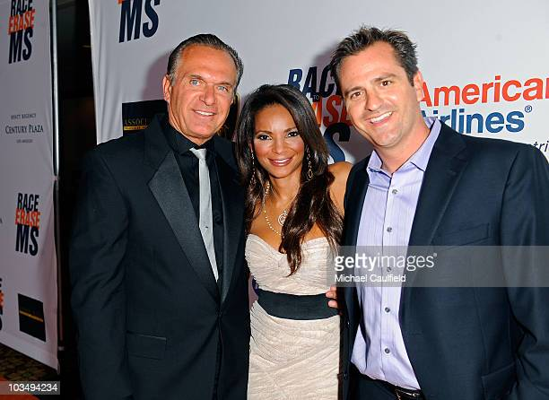 Doctors Andrew Ordon Lisa Masterson and Jim Sears arrive at the 17th Annual Race to Erase MS event cochaired by Nancy Davis and Tommy Hilfiger at the...