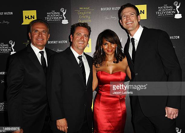 Doctors Andrew P Ordon Jim Sears Lisa Masterson and Travis Lane Stork attend the 39th annual Daytime Emmy Awards at The Beverly Hilton Hotel on June...